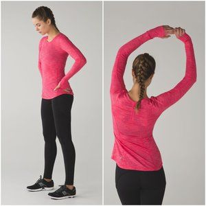 { Lululemon } 5 Mile Long Sleeve